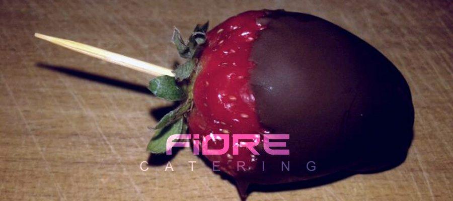 Ягоди с шоколадова глазура