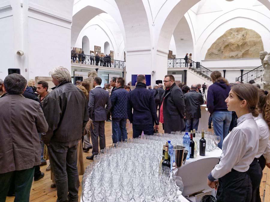 изложба и коктейл